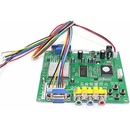 Arcade Game RGB//CGA//EGA//YUV to VGA HD Video Converter Board HD9800//GBS8200 Z8