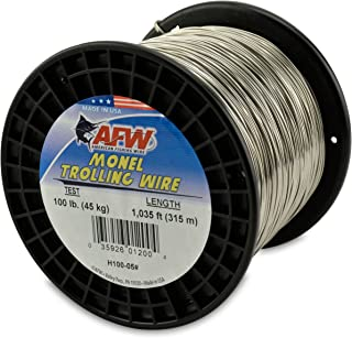 American Fishing Wire Monel Trolling Wire, 100-Pound Test/1.02mm Dia/315m