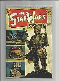 Star Wars #1 Boba Fett Variant