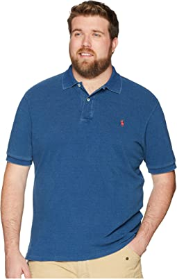 Big & Tall Weathered Mesh Short Sleeve Knit