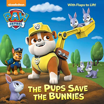 The Pups Save the Bunnies (Paw Patrol) (Pictureback Books)
