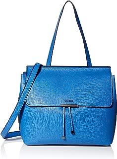 GUESS womens Varsity Pop Cobalt Top Handle Flap