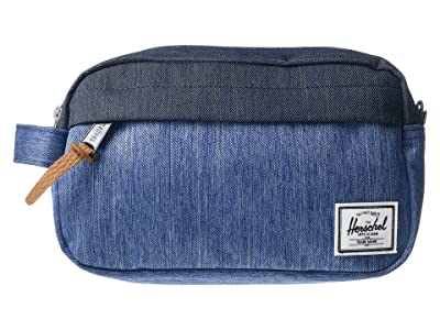 Herschel Supply Co. Chapter Carry On (Faded Denim/Indigo Denim) Bags