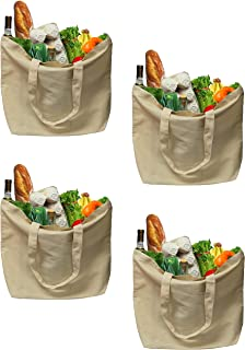 Best organic cotton grocery bags Reviews
