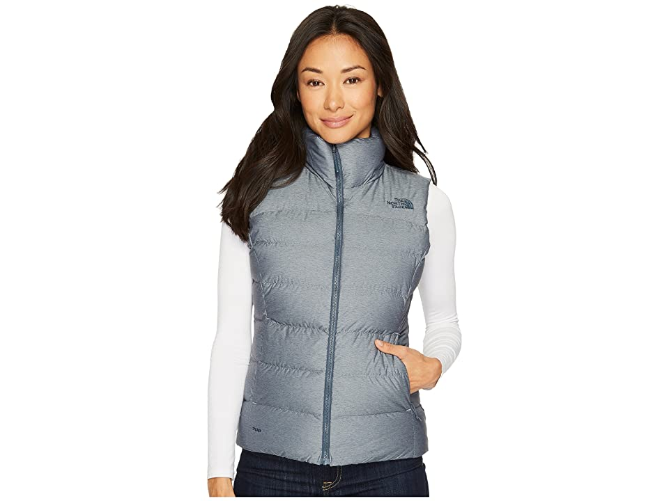 The North Face Nuptse Vest (Ink Blue Heather) Women