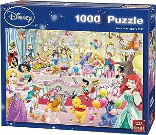 King 5264 Disney Happy Birthday Jigsaw Puzzle 1000-Piece, 68 x 49 cm