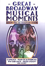 Great Broadway Musical Moments From The Ed Sullivan Show (4 DVD Set)