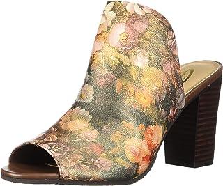 Sbicca Women's Scenic Heeled Sandal, Orange, 7 B US