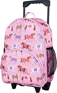 Wildkin Kids Rolling Luggage for Boys and Girls, Carry on Luggage Size is Perfect for School and Overnight Travel, Measure...