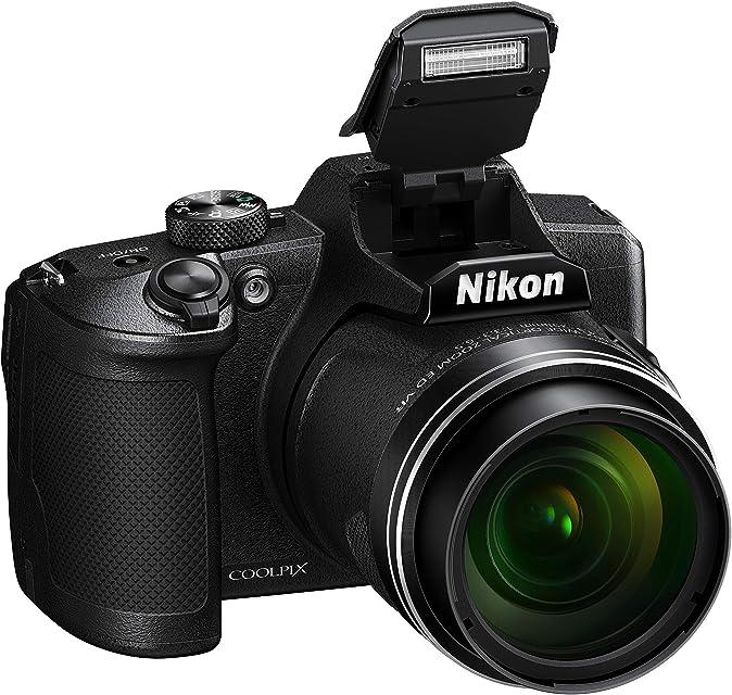Nikon Coolpix B600 - Cámara Bridge (16 Mpx Zoom 60X Full HD Sensor CMOS en Condiciones de Poca iluminación Bluetooth Wi-Fi)