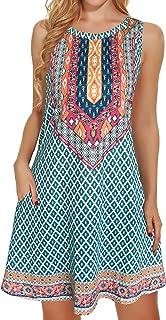Boho Dresses for Women Summer Beach Sleeveless Vintage...