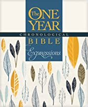 The One Year Chronological Bible Expressions (Softcover, Cream)