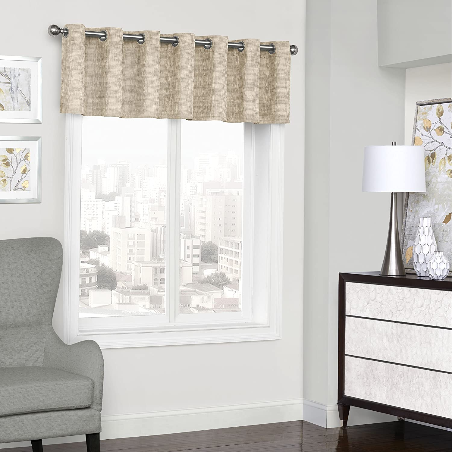ECLIPSE Directly managed store Trevi Short Valance Small Bathroom Phoenix Mall Window Livi Curtains