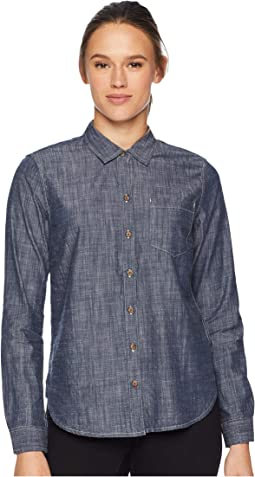 Chambray Slub Long Sleeve Shirt
