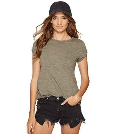 Free People Clare Tee (Green) Women