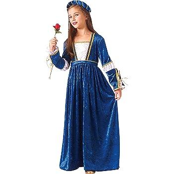 Lima MI389 T5 - Disfraz de doncella medieval infantil, talla 9 ...