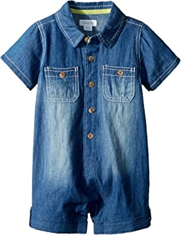 Mud Pie - Chambray One-Piece (Infant)