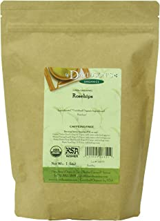 Davidson's Tea Bulk, Organic Rosehips, 16-Ounce Bag