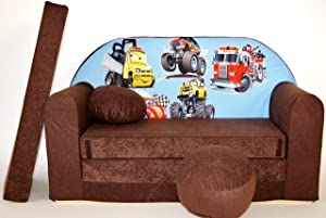 K14 nbsp Children s Fold-Out Sofa Couch Sofa Mini 3 nbsp in 1 nbsp Baby Set Child Seat and Seat Sofa Cushion Mattress