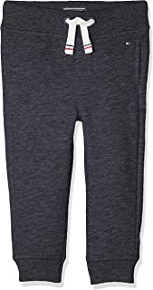 TOMMY HILFIGER Kids Boys Basic Sweatpants, Sky Captain, 10