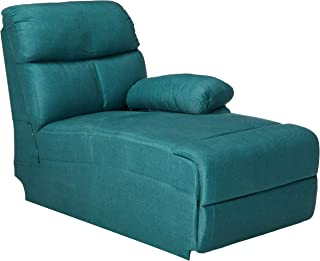 Christopher Knight Home 300330 Susana Comfort Modern Fabric Chaise (Dark Teal)