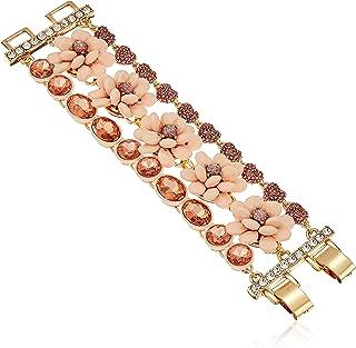 Betsey Johnson Marie Antoinette Flower Multi-Row Bracelet