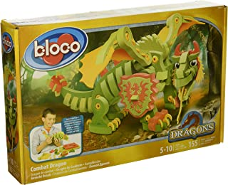 Style Me Up Bloco - Combat Dragon Construction Set - Build Your Dragon - Kids Creative Craft Set for Boys - Cool Present for Boys - SMU-30531