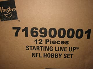 Starting Lineup 2000 Football NFL Hobby Factory Case of 12 Figures Sealed
