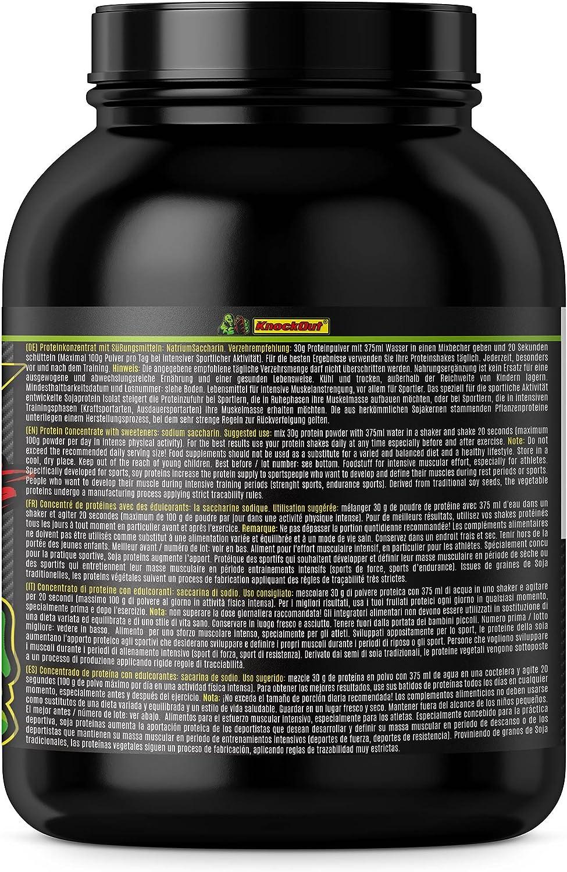 100%SojaCG, Soja CellGainer - Proteína sin lactosa, 2kg vainilla