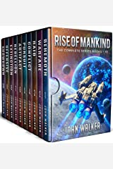 Rise Of Mankind: The Complete Series Books 1-10 (John Walker Box Sets) Kindle Edition