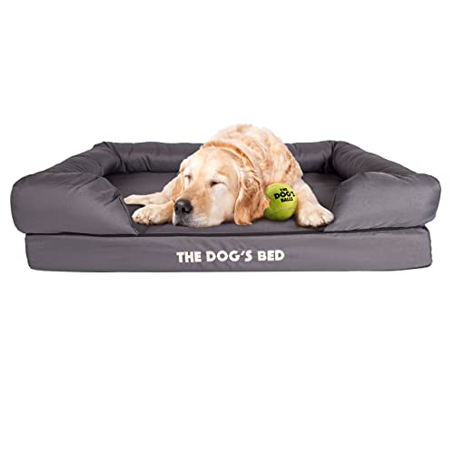 Large Grey Dog Bed Amazon Co Uk