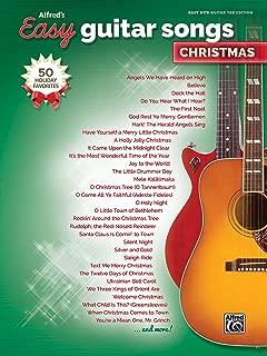 Alfred's Easy Guitar Songs -- Christmas: 50 Christmas Favorites