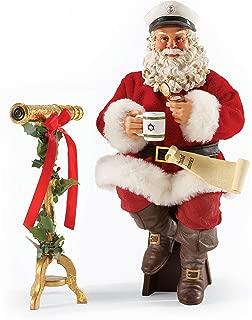 Department 56 Possible Dreams Christmas Nautical or Nice Santa Figurine