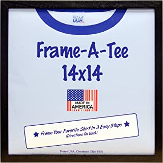 Pack of 3 T-Shirt Frames (14x14, Black)