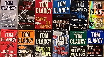 Jack Ryan Jr. Series Set of Campus Novels by Tom Clancy 9 Book Set