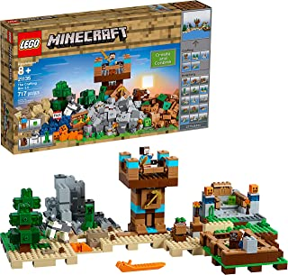 LEGO Minecraft 717-Piece The Crafting Box 2.0 Construction