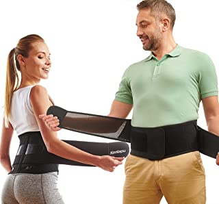 Back Brace for Lower Back Pain - Back Support for Men and Women - Adjustable Lower Back Brace with Removable Lumbar Pad - ...