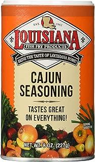 Louisiana Fish Fry Products Cajun Seasoning 8 Ounce
