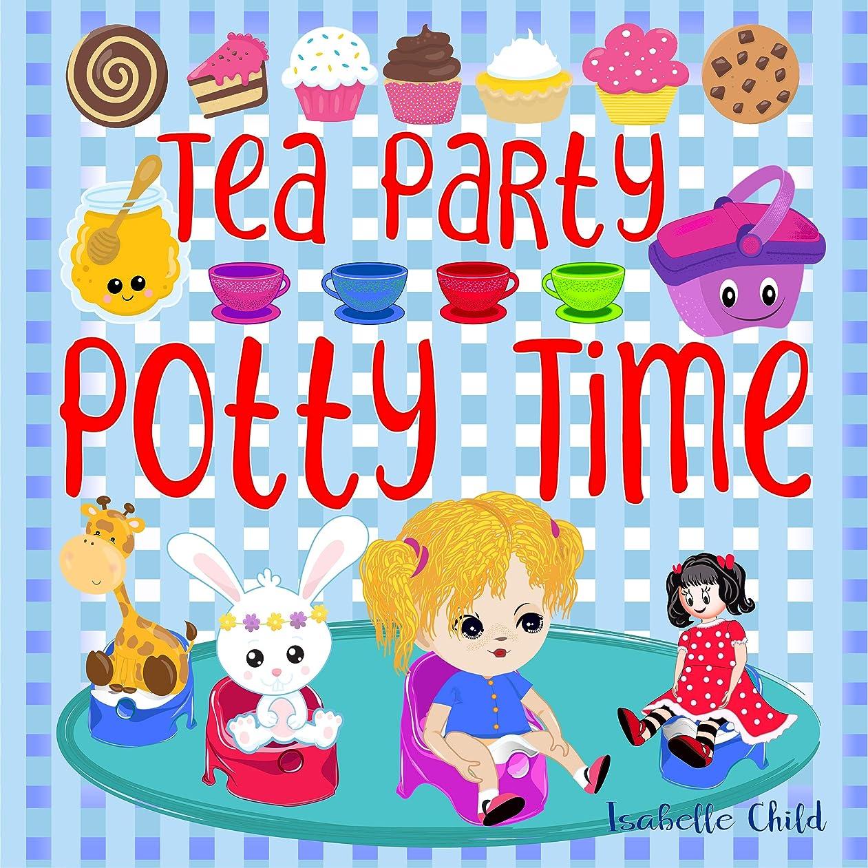 椅子副詞下向きTea Party Potty Time: Potty Training Books for Toddlers Girls. (English Edition)