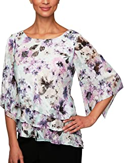 Best tiered chiffon blouse Reviews