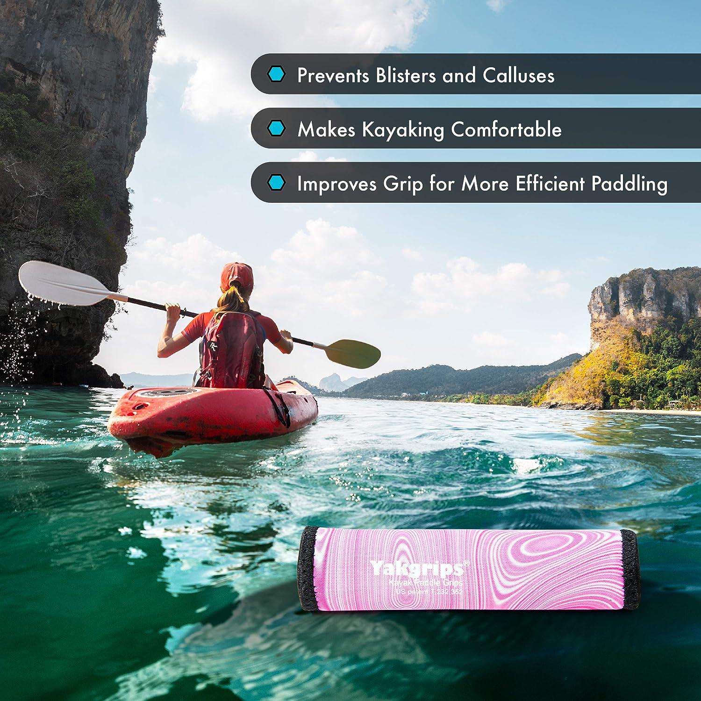 Kayaking Accessories Yakgrips Paddle Grips for Take-Apart Kayak Paddle Shaft Non-Slip Grip Cascade Creek Blister Prevention