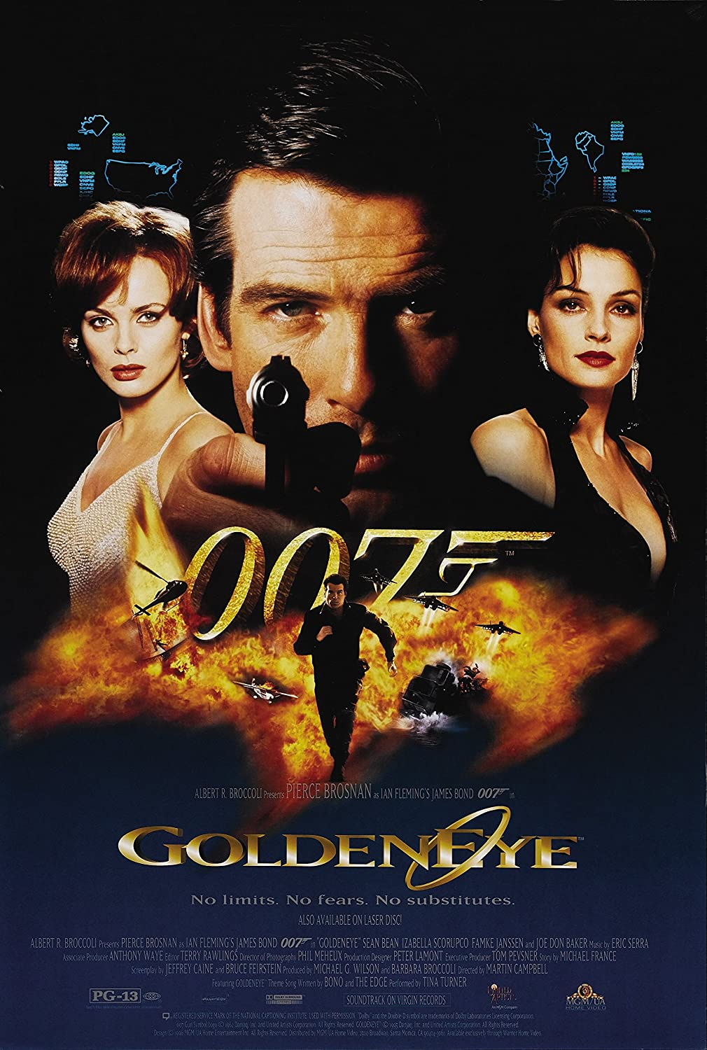 Black Creations goldenEye 6 Movie Poster Canvas Picture Art Print Premium Quality A0 A1 A2 A3 A4 (A0 Canvas (30 40))