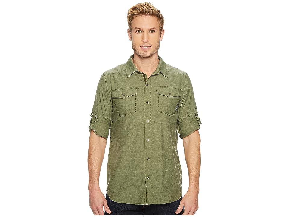 Columbia Pilsner Peak II Long Sleeve Shirt (Mosstone) Men