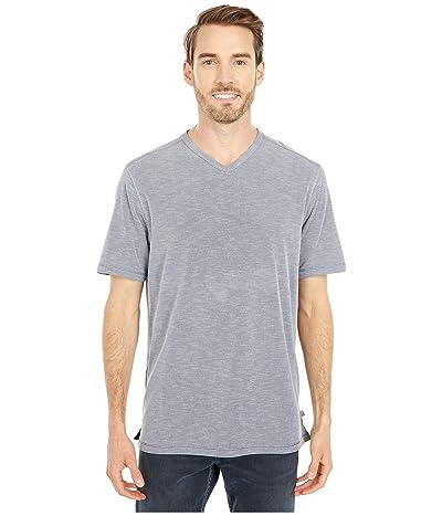 Tommy Bahama Tropicool Paradise IslandZone V-Neck T-Shirt (Ash Grey) Men