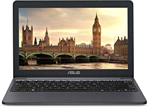 "ASUS VivoBook E203NA Ultra-Thin and Light Laptop, Intel Celeron N3350 Processor, 4GB LPDDR3 RAM, 32GB eMMC Storage + pre-installed 32GB SD Card, 11.6"" HD Display, Windows 10, USB Type-C, E203NA-DH02"