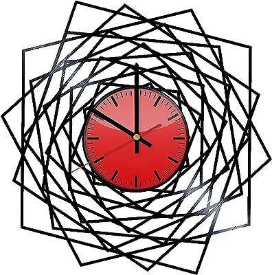 Hypnosis Art Vinyl Wall Clock - Original Gift Idea for Him or Her - Cool Home Decor Wall Art
