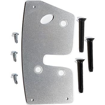 Amazon Com Cs Works Door Latch Repair Reinforcement Plate Fits Dodge Ram 4 Door 94 01 2nd Gen Steel With Replacement Bolts Left Automotive