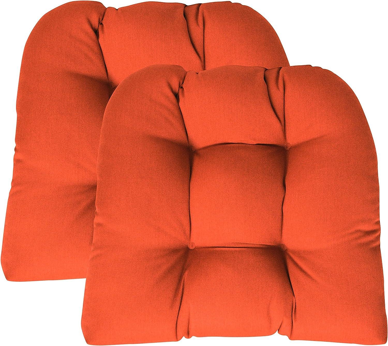 RSH Décor Indoor Outdoor Sunbrella 2 pk Se Chair Special price Wicker Patio Max 50% OFF