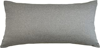 Aiking Home Breathable Solid Faux Linen Lumbar Throw Pillow Case for Sofa, Bedroom or Car. (12