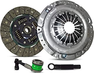 Clutch Kit And Slave Works With Saturn Vue Base Sport Utility 4-Door 2002-2006 2.2L 134Cu. In. l4 GAS DOHC Naturally Aspirated
